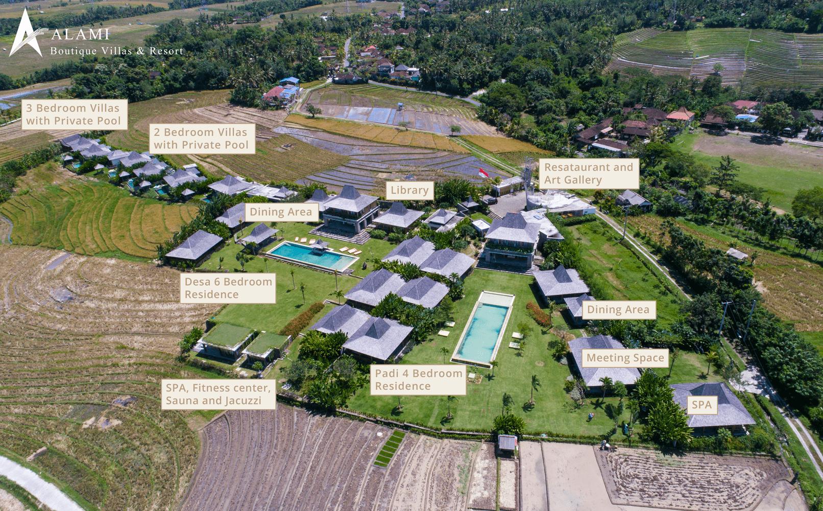 Map of Alami Boutique Villas & Resort